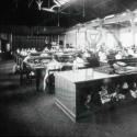 Wolverton Railway Works, sewing room, Wolverton