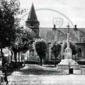 War Memorial and Congregational Church, Wolverton