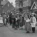 George VI Coronation fancy dress parade, Fenny Stratford