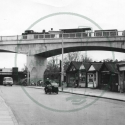 Bletchley flyover near completion, Bletchley